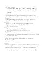 Giáo án bài 25 : Kim loại kiềm và hợp chất quan trọng của kim loại kiềm ppt