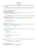 Các sử dụng mạo từ Articles trong Tiếng Anh docx