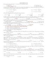 câu hỏi và bài tập vật lý 12 (có đáp án)