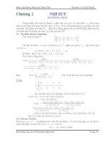 Bài giảng chuyên đề Phương pháp tính Phần 3 ppsx