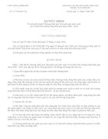 Quyết định - Về việc phê duyệt Chương trình mục tiêu quốc gia nước sạch pdf