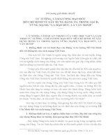 Đề cương giới thiệu chủ đề Tư tưởng Hồ Chí Minh doc