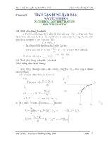 Bài giảng chuyên đề Phương pháp tính Phần 4 pptx