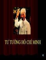 Slide bài giảng chương 2 Tư tưởng Hồ Chí Minh pptx