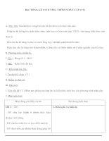 Sinh học 9 - TỔNG KẾT CHƯƠNG TRÌNH TOÀN CẤP (TT) doc