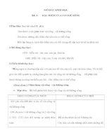 Giáo án Sinh học 6 - ĐẶC ĐIỂM CỦA CƠ THỂ SỐNG pptx