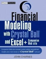 Financial Modeling with Crystal Ball and Excel Chapter 1 pptx