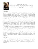 bài tập lớn ctdl & gtthe lord of the rings  the two towersphiên bản 1.01