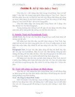 Giáo trình CorelDraw 8 - Chương 4 ppsx