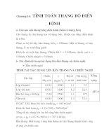 tính toán thiết kế nhà cao tầng ( viện y học các bệnh lâm sàn nhiệt đới ), chương 14 docx