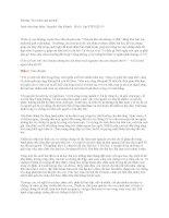 Bài tập phát triển kỹ năng quản trị 2 docx