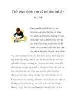 Thời gian thích hợp để trẻ làm bài tập ở nhà pptx