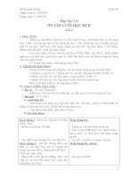 giao án lớp 4 tuần 35 CKTKN&BVMT