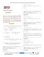 Phương pháp và các dạng bài tập liên quan đến khảo sát hàm số ppsx