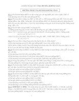 29 bài toán toạ độ trong không gian
