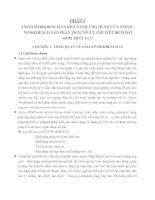 ANSYS WORKBENCH VÀ KHẢ NĂNG ỨNG DỤNG CỦA ANSYS WORKBENCH VÀO PHÂN TÍCH tối ưu CHI TIẾT BÍCH đầu bơm THỦY lực