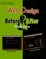 web design before and after makeovers™