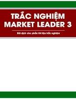 Bài dịch trắc nghiệm market leader 3
