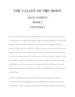 THE VALLEY OF THE MOON JACK LONDON BOOK 2 CHAPTER 2 pptx