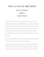THE VALLEY OF THE MOON JACK LONDON BOOK 1 CHAPTER 14 ppt