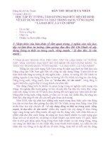 BÀI THU HOẠCH VỀ XÂY DỰNG ĐẢNG TRONG SẠCH, LÀ ĐẠO ĐỨC, LÀ VĂN MINH