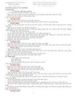 Tài liệu hướng dẫn và đề cương ôn tập học kì 2 môn toán 7