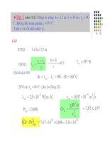 Bài tập truyền nhiệt số 2 ppsx