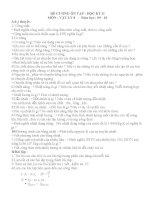 Đề cương ôn tập HK II vật lý 8(09-10)