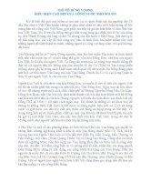Chuyên đề về Ngày Giổ Tổ Hùng Vương 10/3 Canh Dần
