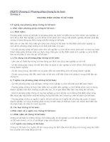 Chương 2: PHƯƠNG PHÁP CHỨNG TỪ KẾ TOÁN ppt