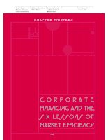 Brealey−Meyers: Principles of Corporate Finance, 7th Edition - Chapter 13 pps