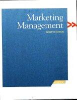 Marketing management Chapter 1 potx