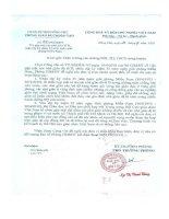 Số: 71/PGD&ĐT ngày 20/4/2010 v/v gặp mặt các nhà giáo đi B, nhân dịp kỷ niệm 35 năm ngày giải phóng Miền Nam