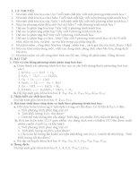 ĐỀ CƯƠNG ÔN HỌC KÌ II HÓA 8
