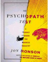 the psychopath test_ a journey through the madne - jon ronson