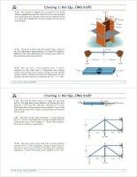 cơ học vật liệu -bài tập ứng suất