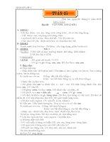 Giáo án lớp 1 Tuần 15 potx