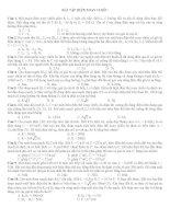 Bài tập điện xoay chiều (Luyện thi) docx