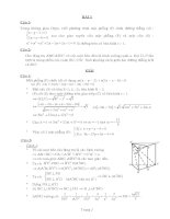 20 bài hình học không gian ôn thi đại học có giải chi tiết