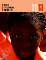 world development indicators 2013