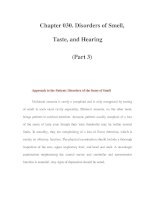 Chapter 030. Disorders of Smell, Taste, and Hearing (Part 3) pdf