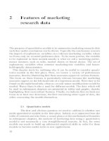 Quantitative Models in Marketing Research Chapter 2 ppsx