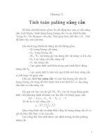 bài giảng môn học máy nâng chuyển, chương 11 ppt