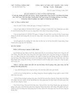 Quyết định Số: 61/2005/QĐ-TTg do Thủ tướng chính phủ ban hành pptx