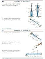 cơ học vật liệu -bài tập nội lực