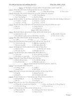 câu hỏi và bài tập trắc nghiệm địa lý 8
