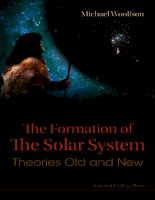 the formation of the solar system theories old and new