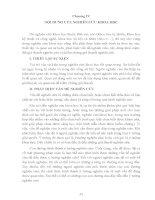 PHƯƠNG PHÁP LUẬN NGHIÊN CỨU KHOA HỌC PHẦN 4 potx