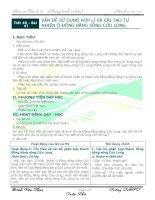 Tiết 46 - Bài 41: vấn đề sử dụng hợp lí và cải tạo tự nhiên ở ĐBSCL Địa lí 12 - CB)