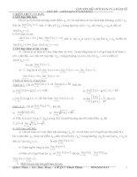 Chuyên đề  giới hạn hàm số